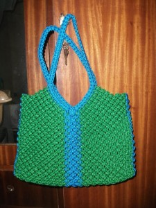 Macrame Purse Patterns Free : Macrame Patterns: Macrame Bag Macrame Lovers Blog